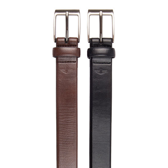 Dockers Comfort Stretch Belt Set