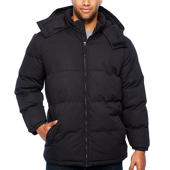 The Foundry Big & Tall Supply Co. Hooded Midweight Puffer Jacket - Big and Tall