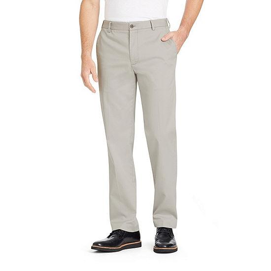 6158821547287 Van Heusen Air Chino Mens Straight Fit Flat Front Pant