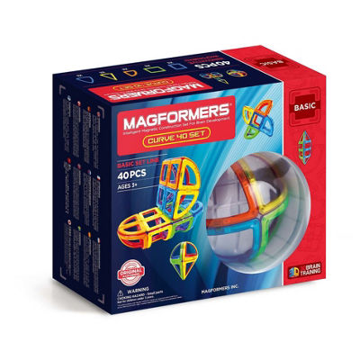 Magformers Curve 40 PC Set