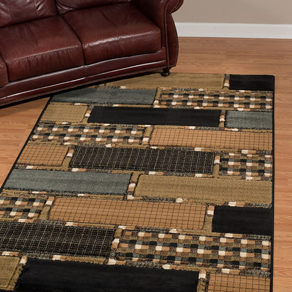 United Weavers Contours Donna Sharp Collection Cobblestone Rectangular Rug