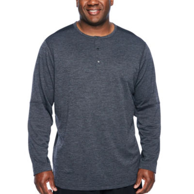 Msx By Michael Strahan Long Sleeve Henley Shirt