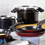 Farberware Neat Nest Saucepan Set 4-pc. Aluminum Dishwasher Safe Non-Stick Cookware Set