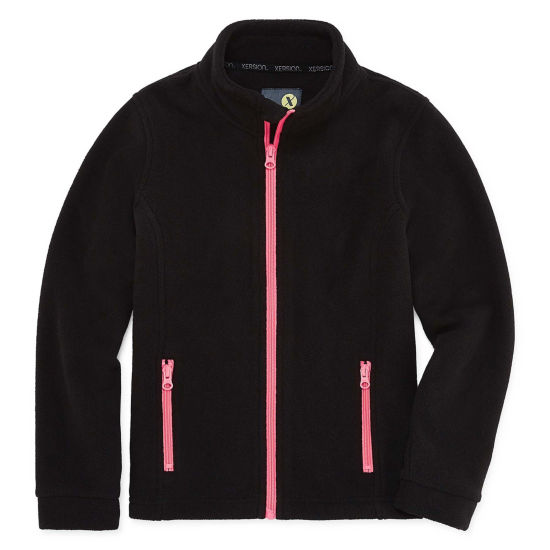 Xersion Fleece Lightweight Jacket Girls