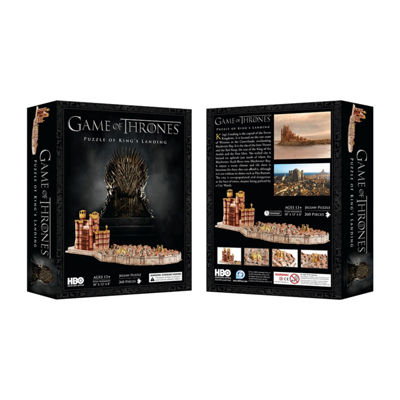4D Cityscape 3D Game of Thrones: Kings Landing