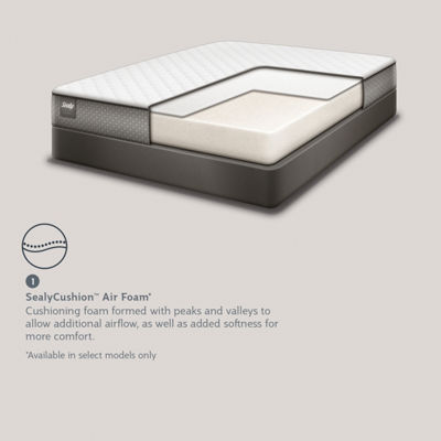 Sealy® Golden Meadow LTD Plush - Mattress + Box Spring