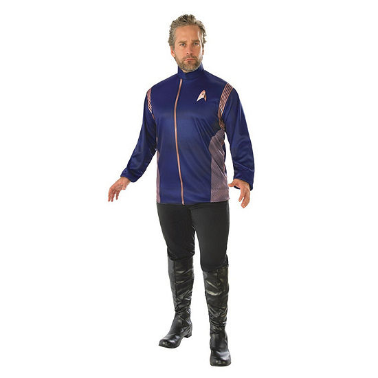 Star Trek Discovery Mens Operations Dress Up Costume Top Costume Costume