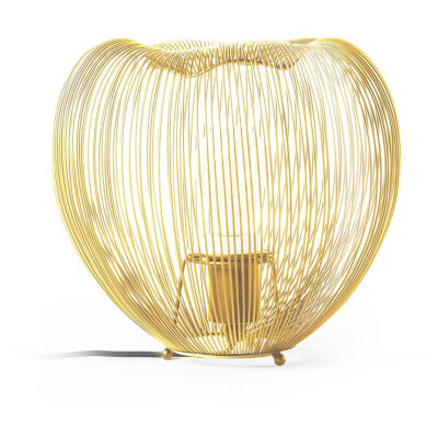 """Watch Hill 9"""" Lucy Brass Plated Metal Shade Table Lamp"""