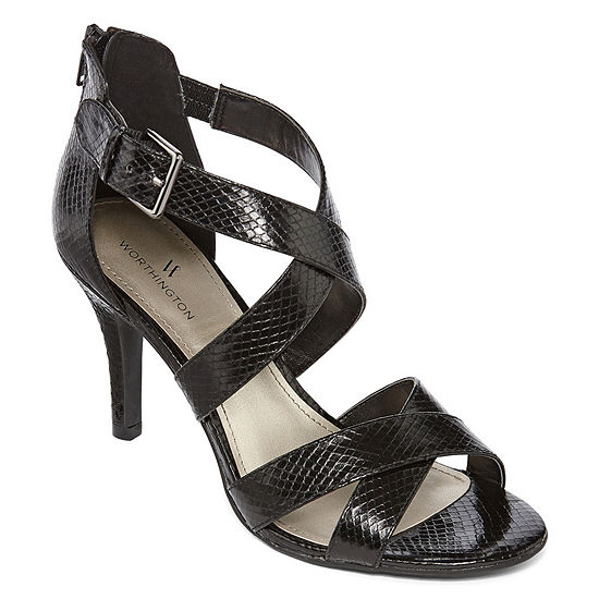 88a5e034a027 Worthington Cari Womens Heeled Sandals JCPenney