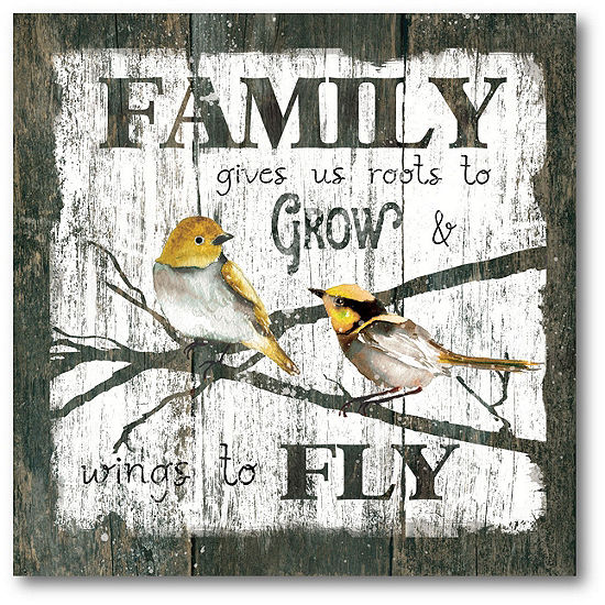 Courtside Market Family Fly Canvas Art