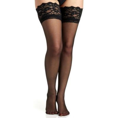 Berkshire Hosiery Lace Top Thigh Highs- Plus