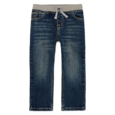 Okie Dokie Regular Fit Jeans Toddler Boys