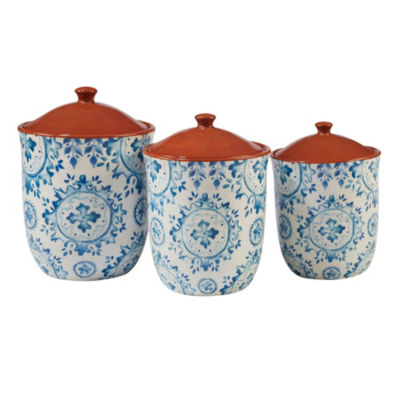 Certified International Porto 3-pc. Canister