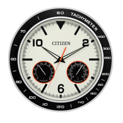 Citizen Outdoor Water-Resistant Cream Wall Clock-Cc2019