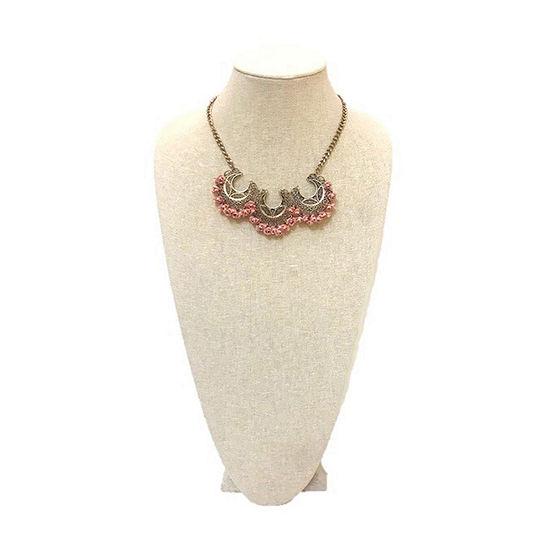 Bijoux Bar Womens Statement Necklace