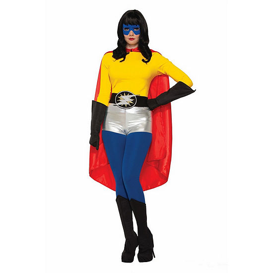 Red Adult Cape Dress Up Accessory