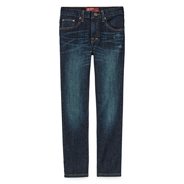 Arizona Stretch Straight Leg Jeans - Boys 4-20 and Husky