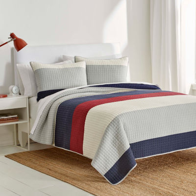 IZOD Highlands Stripes Quilt