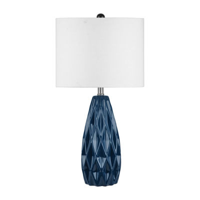 "Watch Hill 25"" Taylor Ceramic Linen Shade Table Lamp"
