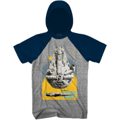 Star Wars Solo Falcon Blast Graphic Tee