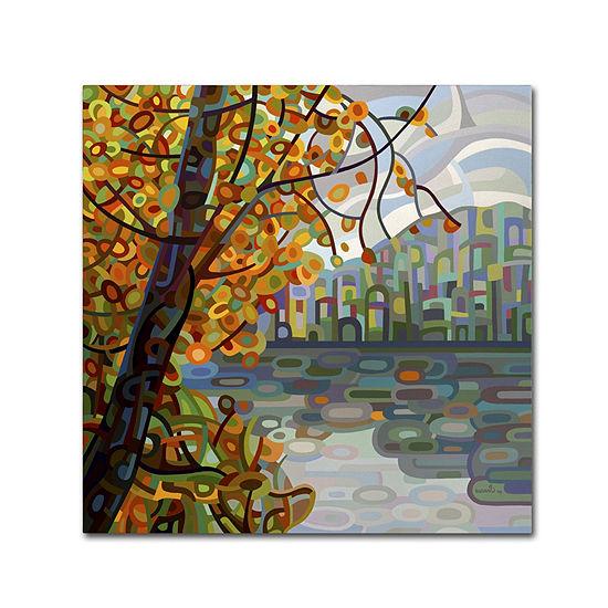Trademark Fine Art Mandy Budan Reflections Giclee Canvas Art