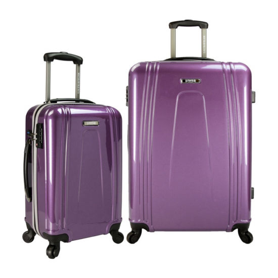 Ezcharge 2-pc. Hardside Luggage Set