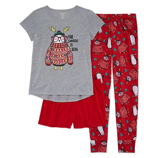 Arizona 3 pc Pajama Set Girls JCPenney b2091c264