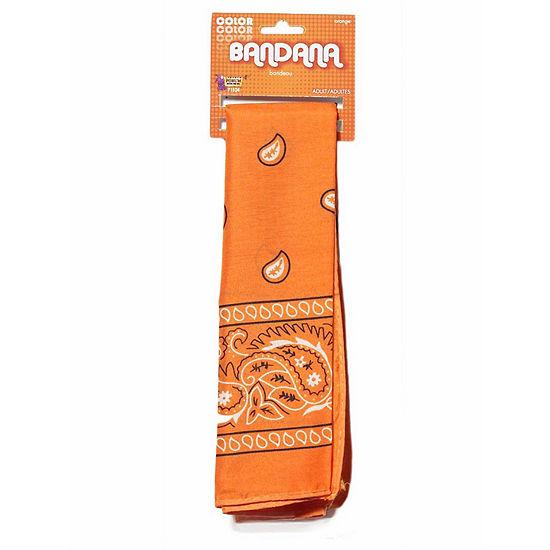 Orange Bandana Dress Up Accessory