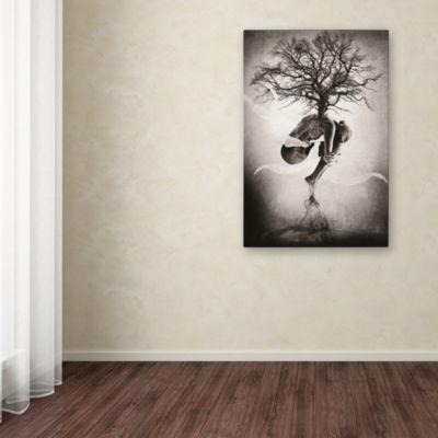 Trademark Fine Art Erik Brede Tree of Life GicleeCanvas Art