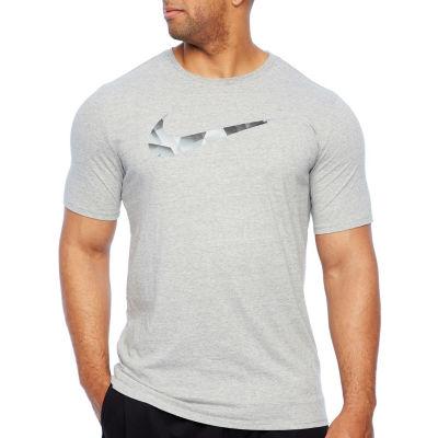 Nike Mens Crew Neck Short Sleeve T-Shirt-Big and Tall