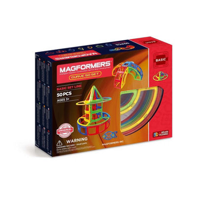 Magformers Curve 50 PC Set