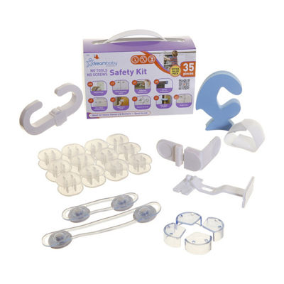 Dreambaby® No Tools Required Home Safety Kit - 35 Pieces
