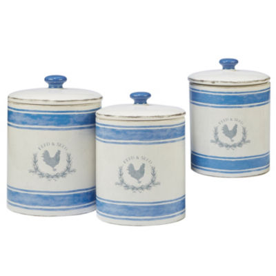 Certified International Urban Farmhouse 3-pc. Canister
