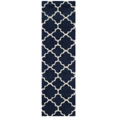Safavieh Hudson Shag Collection Synthia Geometric Runner Rug