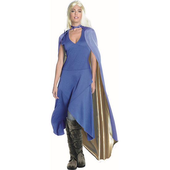 Game Of Thrones Womens Dragon Queen Dress Up Costume Costume