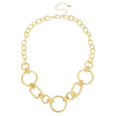 Worthington Womens Collar Necklace
