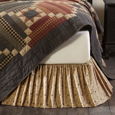 VHC Classic Country Primitive Bedding - Maisie BedSkirt