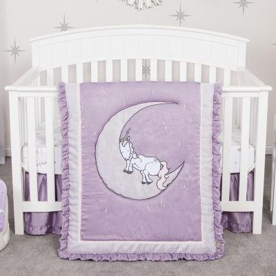Trend Lab Unicorn Dreams 3-pc. Crib Bedding
