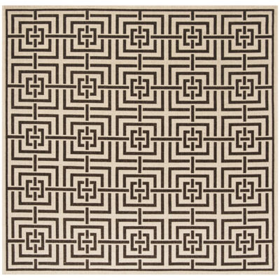 Safavieh Linden Collection Neal Geometric Square Area Rug