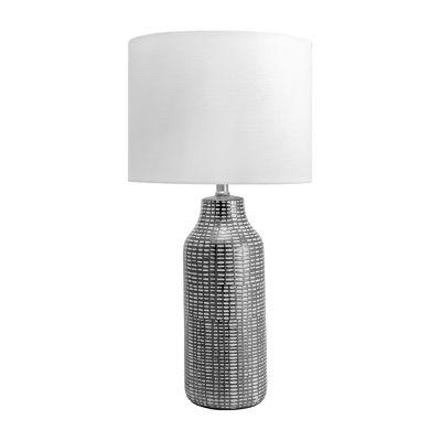 "Watch Hill 26"" Ilene Ceramic Linen Shade Table Lamp"