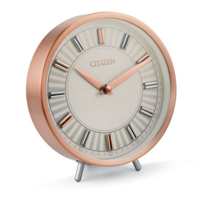 Citizen Decorative Blue Mother Of Pearl Table Clock-Cc1021
