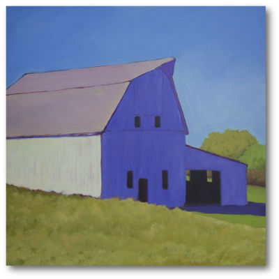 Over The Hill Canvas Art