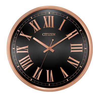 Citizen Gallery Black Wall Clock-Cc2024