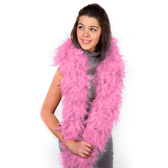 Shop By Color - Pink: Pink Boa Dress Up Accessory