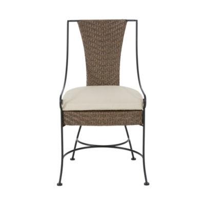 Madison Park Set of 2 Davis Outdoor Arm Chairs