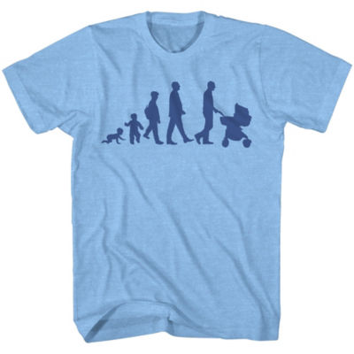 Father's Day Evolution Dad Graphic Tee
