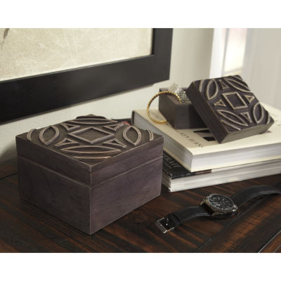 Signature Design By Ashley® Set of 2 Marquise Boxes