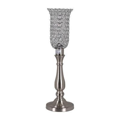 "22"" Diana Table Lamp With Beaded Shade"