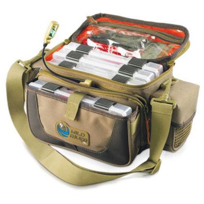 Wild River Tackle Tek Mission Lighted Tackle Bag 4Trays