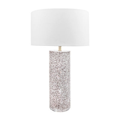 """Watch Hill 20"""" Valentina Concreate Cotton Shade Table Lamp"""